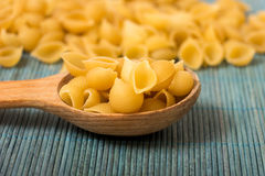 Shell pasta Stock Image