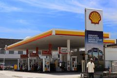 Shell Petrol Station In Malaysia photo stock