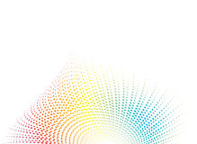 Shell rainbow Royalty Free Stock Images