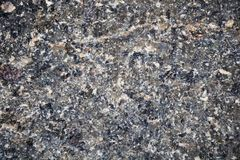 Granite in gray tones. Texture. Building material. Royalty Free Stock Photography
