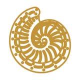 Shell-schets Vector Illustratie