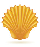 Shell sea vector illustration Stock Photography