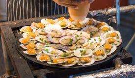 Shell Seafood est n'importe quelle forme de mer image stock