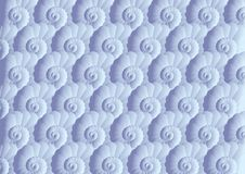 Shell seamless pattern Royalty Free Stock Image