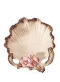 Shell-shaped dishes Royalty Free Stock Photography