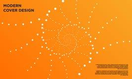 Shell spiralen, bakgrund, grafiskt som är vit, beståndsdelen, modellen, piruetten, tapeten, konst, designen, abstrakt begrepp, fe royaltyfri illustrationer