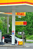 Shell station in Italy Stock Photos