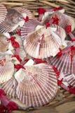 Shell Symbol de Camino De Santiago Galicia ; Espagne photo stock