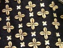 Shell textile Royalty Free Stock Photo