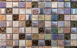 Shell tiles. Colorful tiles that can decorate the bathroom royalty free stock photo