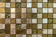 Shell tiles. Colorful tiles that can decorate the walls stock photography