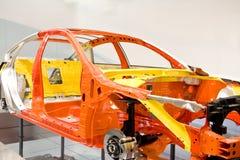 Shell van de auto Stock Foto