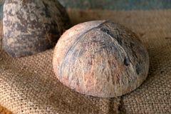 Shell van de kokosnoot Royalty-vrije Stock Foto's