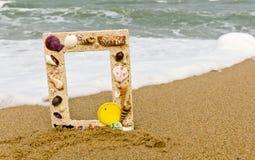 Shell van het beeld frame, stock foto
