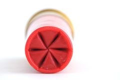 Shell van het jachtgeweer golfplaat Stock Afbeelding
