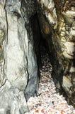 Shell vara la cueva en la cáscara, isla del hombre fotografía de archivo libre de regalías