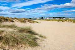 Shell zatoka Dorset Anglia obraz stock
