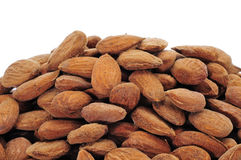 Shelled almonds Stock Image