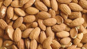 Free Shelled Almonds Close Up Royalty Free Stock Photo - 217953905