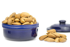 Shelled Almonds Royalty Free Stock Photography