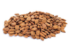 Shelled almonds Royalty Free Stock Images