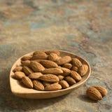 Shelled Almonds Stock Photos