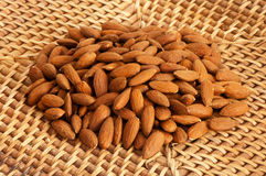 A shelled almonds Royalty Free Stock Photos
