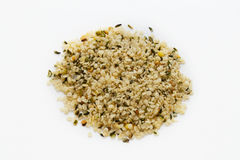 Shelled hempseed Stock Photo
