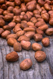 Shelled peanuts Stock Images