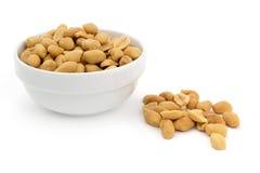 Shelled peanuts Stock Photography