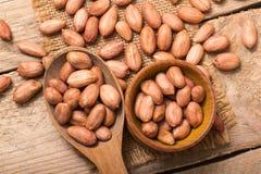 Shelled peanuts Royalty Free Stock Photos