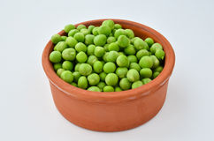 Shelled peas Royalty Free Stock Images