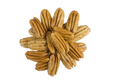 Shelled Pecan Nuts Stock Image