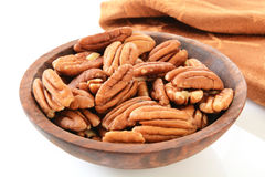 Shelled pecans Royalty Free Stock Photography