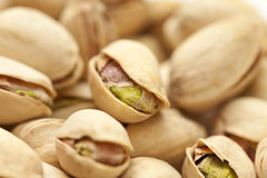 Shelled pistachio background Royalty Free Stock Photo