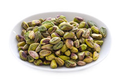 Shelled pistachio nuts Royalty Free Stock Image