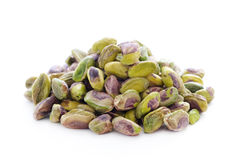 Shelled pistachio nuts Royalty Free Stock Photo