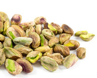 Shelled pistachios Stock Photo