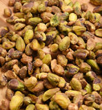 Shelled pistachios Stock Photo