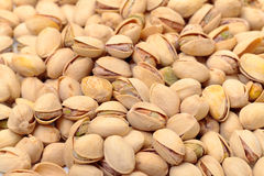 Shelled Pistachios Nuts Stock Photo