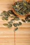 Shelled pumpkin Seeds Stock Images