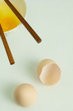 Shells of eggs  Royalty Free Stock Images