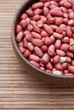 Shelled red peanuts Royalty Free Stock Photography