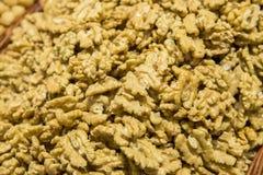 Shelled walnut Royalty Free Stock Images
