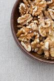 Shelled walnuts Stock Photos