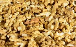 Shelled walnuts Stock Photo