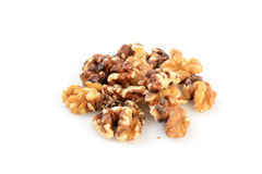 Shelled walnuts Royalty Free Stock Photo
