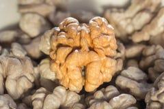 Shelled walnuts Royalty Free Stock Photo