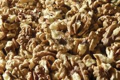 Shelled walnuts Royalty Free Stock Photography