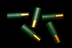 Shelles de escopeta Fotos de archivo